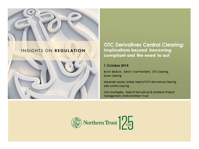 OTC derivatives central clearing: Implications beyond becoming compliant