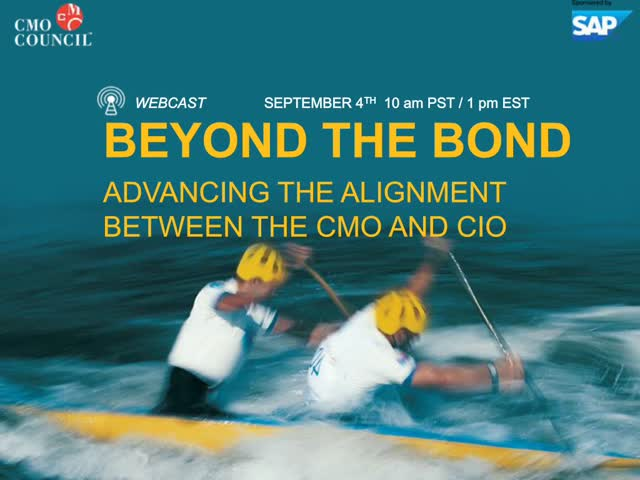 Manage: Beyond the Bond: Advancing the Alignment Between the CMO and CIO