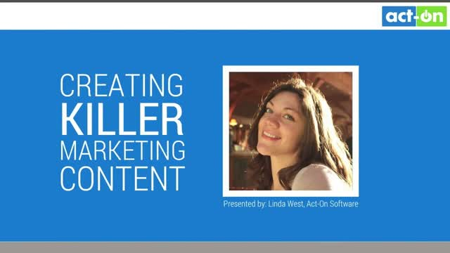 Video Guide: Creating Killer Marketing Content
