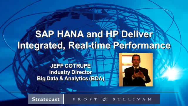 Business is real-time: Now, so are SAP analytics