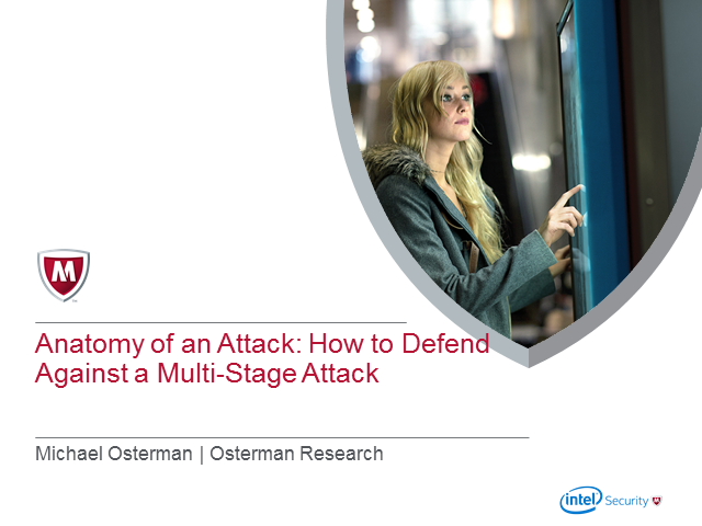 Anatomy of an Attack – How to defend against a multi-stage attack