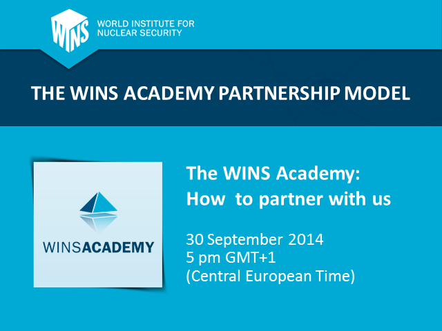 The WINS Academy Partnership Model