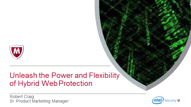 Unleash the power and flexibility of hybrid web protection