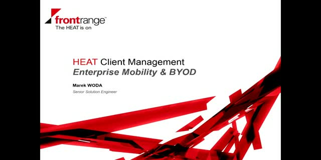 HEAT Client Management Supports Enterprise Mobility & BYOD
