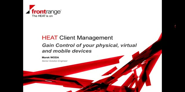 HEAT Client Management - Gain Control of your physical, virtual, and mobile devi