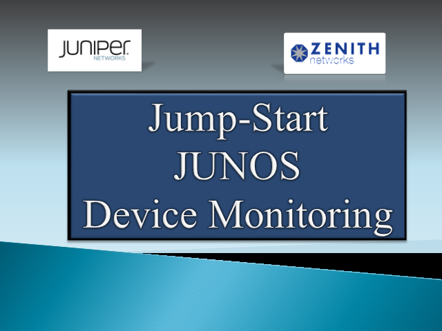 Jump Start Junos Advanced October 16th