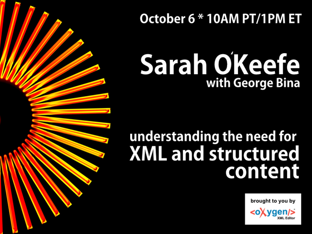 Understanding the Need for XML and Structured Content