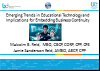BCI webinar: Implications of emerging trends in educational technology