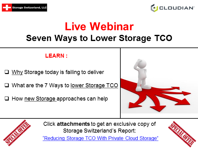 The 7 Key Reasons why Object Storage Lowers Storage TCO