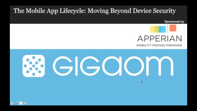 The Mobile App Lifecycle: Moving Beyond Device Security