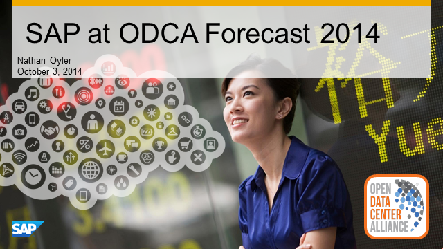 Forecast 2014 recap and SAP's Private Cloud Strategy
