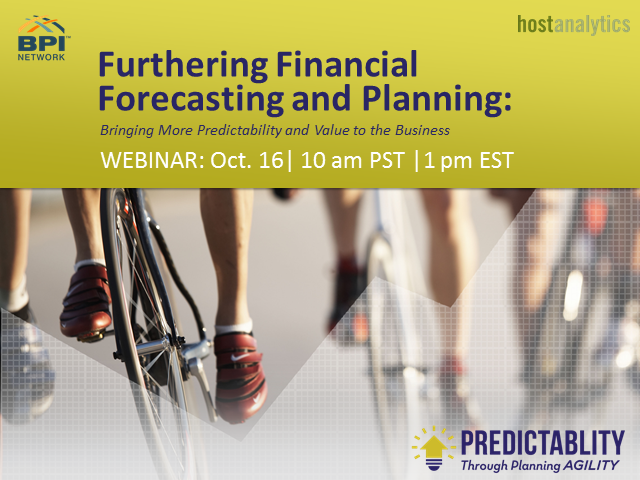 Forecasting and Planning: How CFOs Are Bringing More Predictability and Value