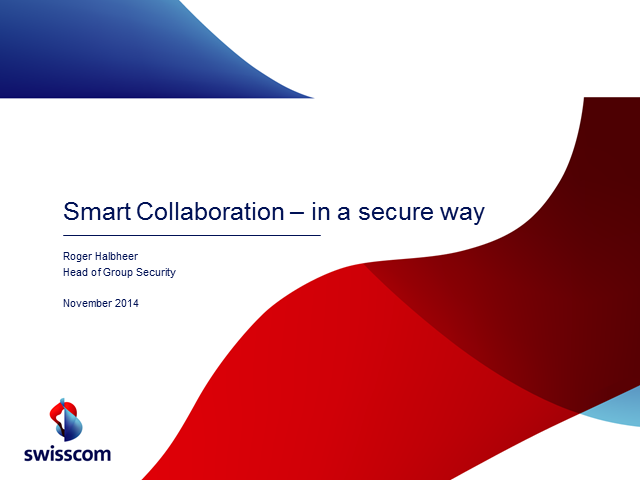 Smart Collaboration – In a Secure Way