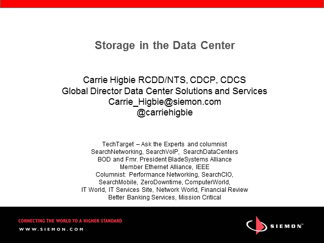 Data Center Storage Evolution: SAN, DAS, NAS,  iSCSI and Fibre Channel FCoE