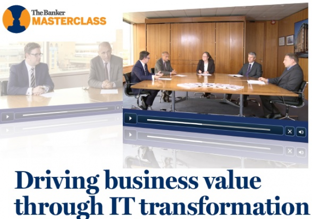 IT Transformation Master Class Chapter 1: Driving Business Value