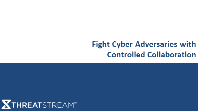 Fight Cyber Adversaries with Controlled Collaboration