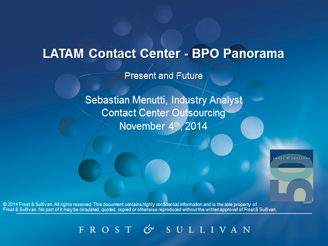 Take a Ride into the LATAM Contact Center BPO Panorama: Present and Future