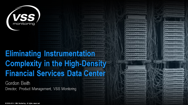 Eliminating instrumentation complexity in the high-density data center