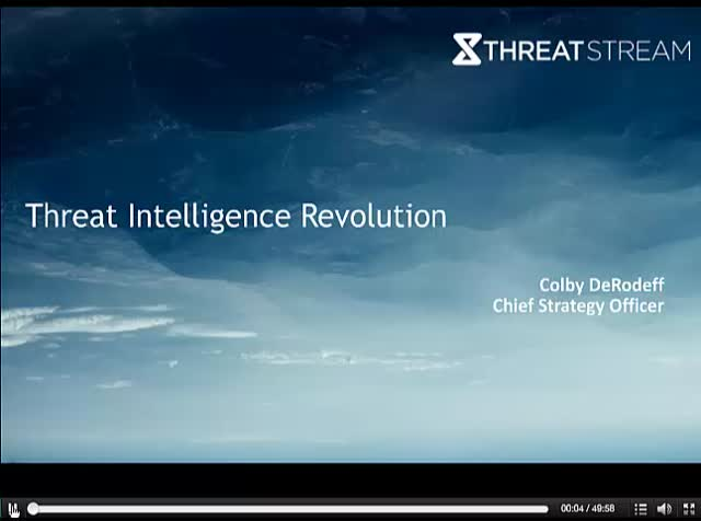 Threat Intelligence Revolution