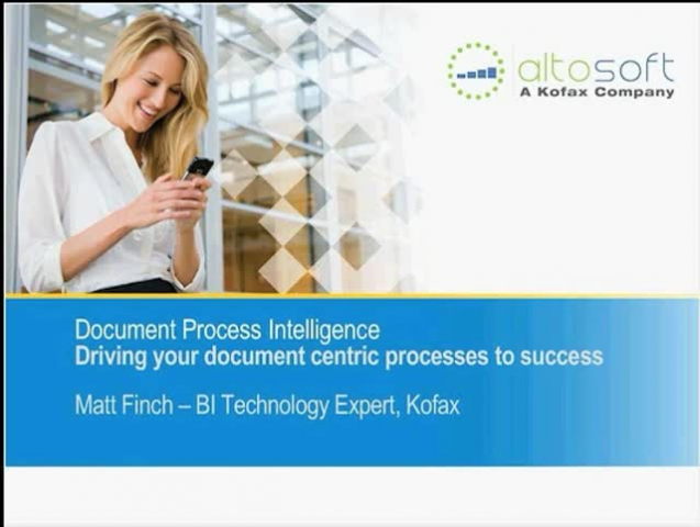 Document Process Intelligence: Drive Your Document-Centric Processes to Success
