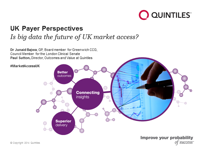 UK payer perspectives: Is big data the future of market access?