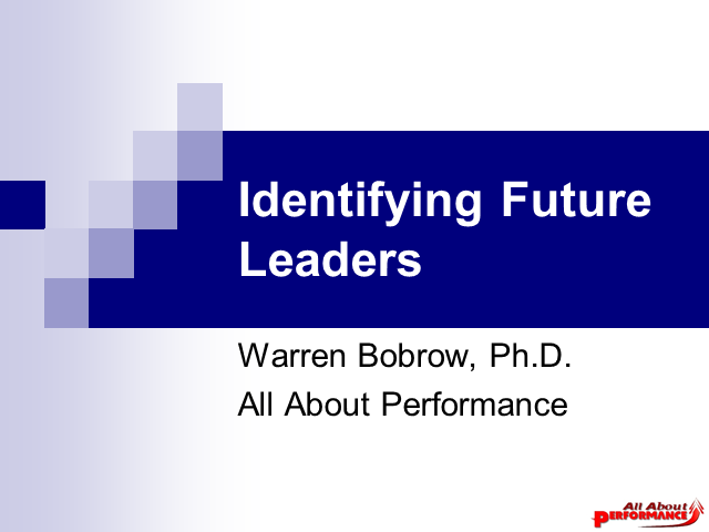 Identifying Future Leaders For Your Contact Center Operations