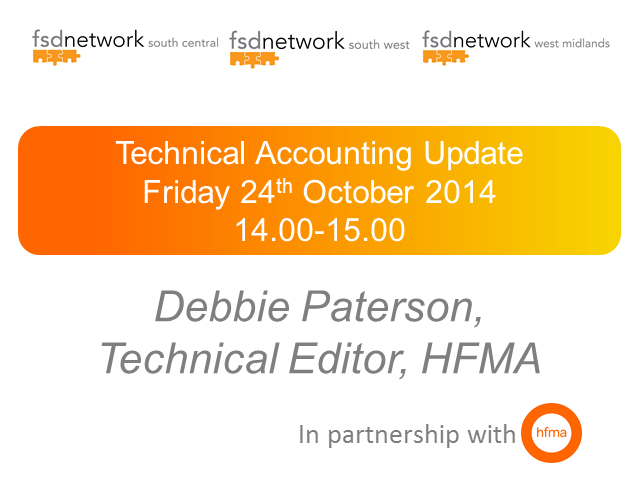 WM & SC FSD, Technical Accounting Update