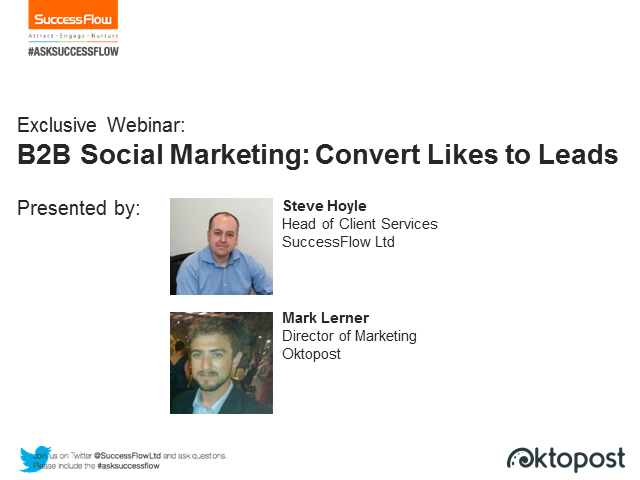 B2B Social Marketing: Convert Likes into Leads