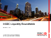 HSBC Liquidity RoundTable