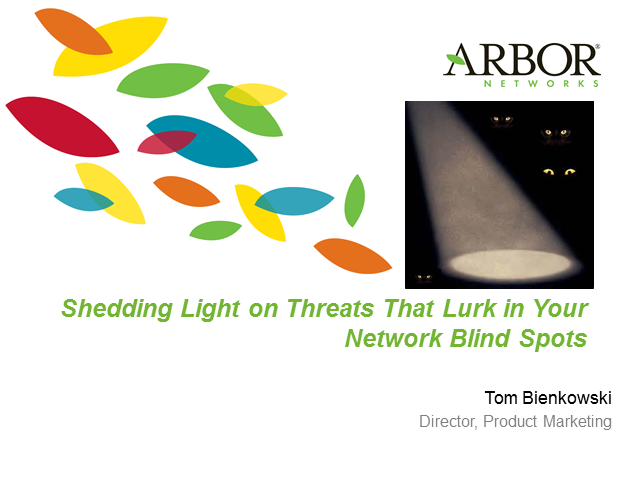 Shedding Light on Threats That Lurk in Your Network Blind Spots