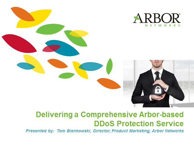 Delivering a Comprehensive, Arbor-based, DDoS Protection Service