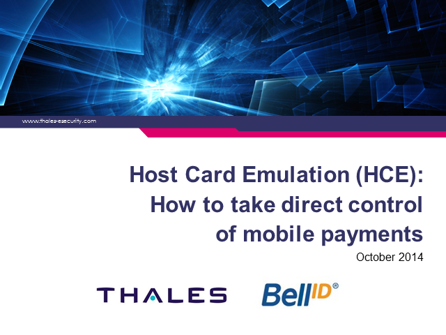 Host Card Emulation (HCE): How to take direct control of mobile payments""