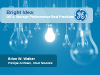 Bright Idea: GE's Storage Performance Best Practices