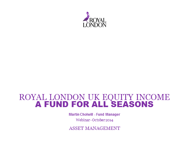 Royal London UK Equity Income