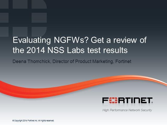 Evaluating NGFWs: Is the Security Worth the Performance Slowdown?