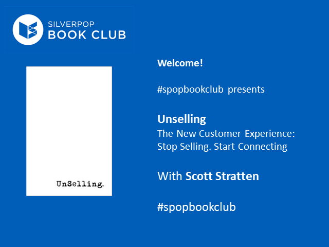#spopbookclub presents Unselling with Scott Stratten