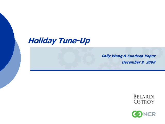 Holiday Tune-Up