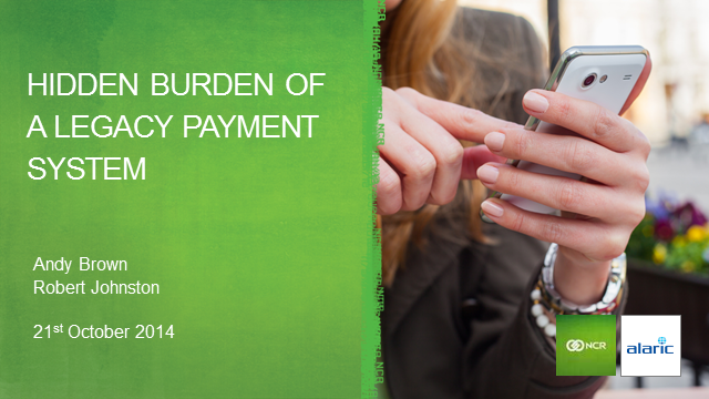 Hidden burden of a legacy payment system