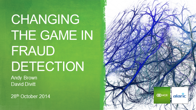 Fraud - Changing the game – results from an analytical proof of concept