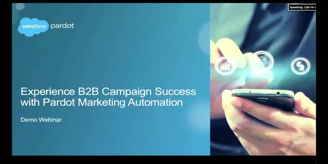 B2B Marketing Success with Pardot Marketing Automation