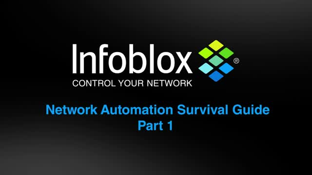 Network Automation Survival Guide Part 1