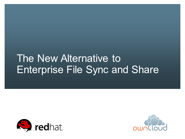 The New Alternative to Enterprise File Sync and Share
