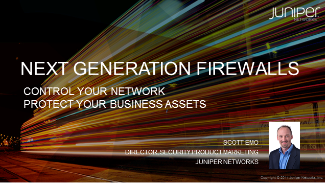 Next Generation Firewalls: Control Your Network. Protect Your Business Assets.