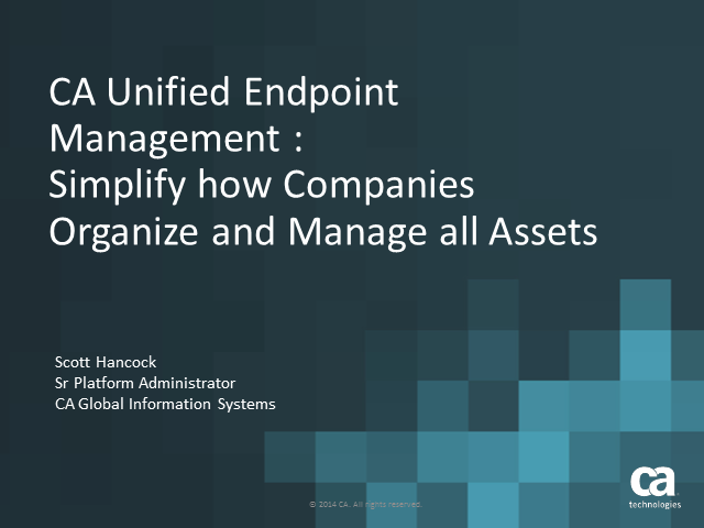 Endpoint Management: Simplify How Companies Organize and Manage all Assets