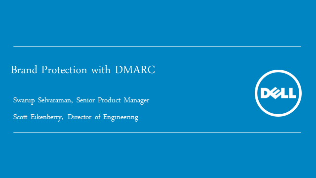 Brand Protection with DMARC for Email