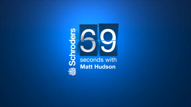 60 Seconds with Matt Hudson