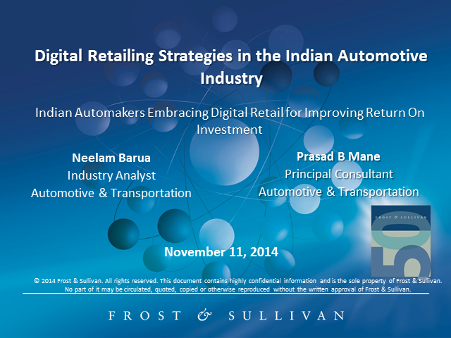 Digital Retailing Strategies in the Indian Automotive Industry