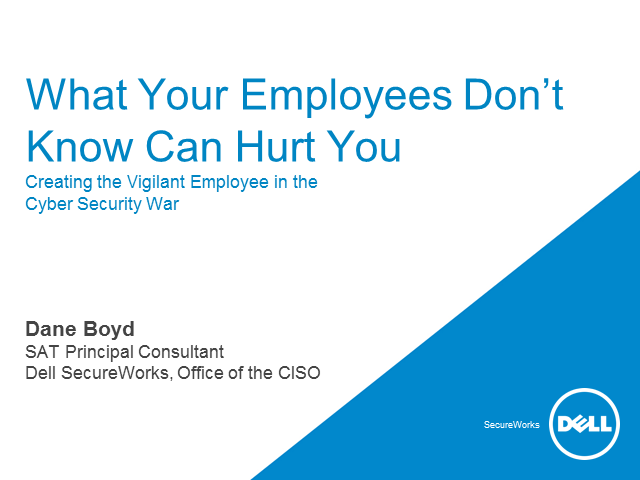 What Your Employees Don't Know Can Hurt You
