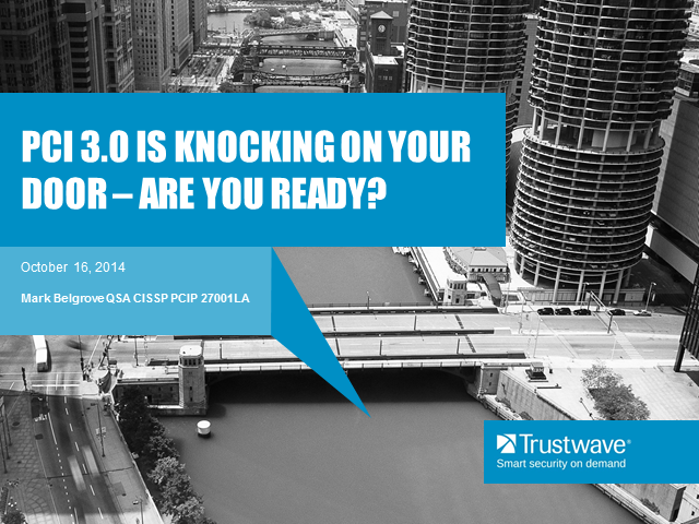 PCI 3.0 Is knocking on your door - are you ready?