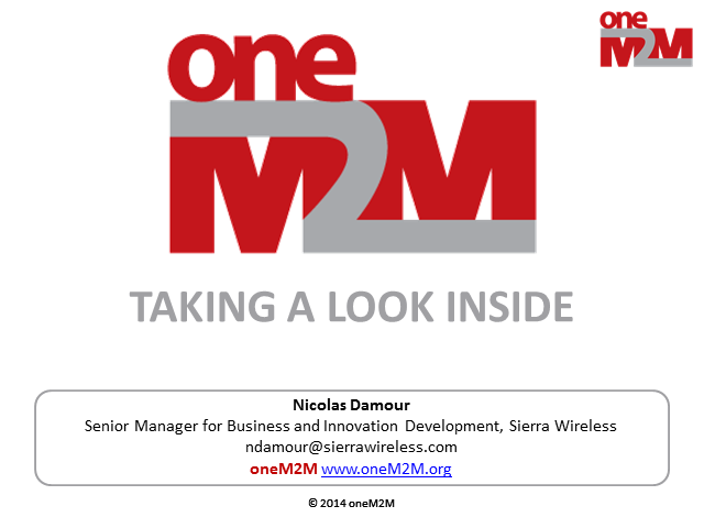 Taking a look inside oneM2M